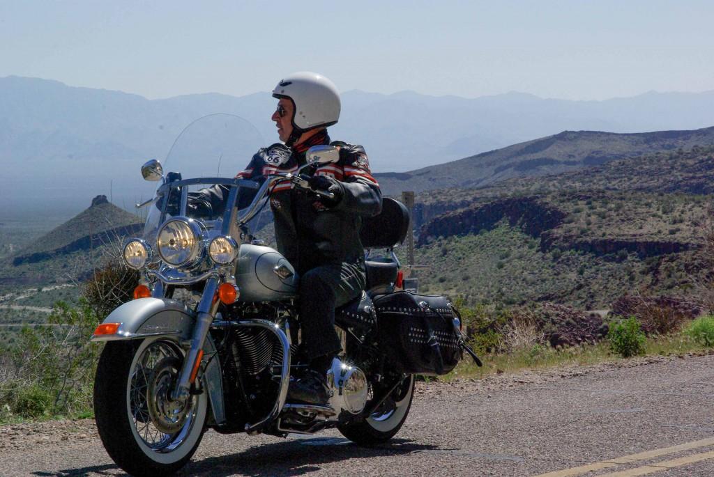 Mit der Harley Davidson über die Straßen und Highways von Arizona, Nevada und Utah.