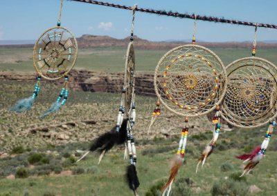Arizona: Indianerschmuck ist am Straßenrand für kleines Geld zu haben.