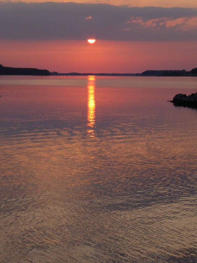 Sonnenuntergang in Nykobing.