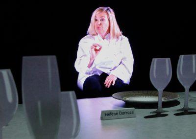 Virtuelle Realität: Zu Tisch mit Hélène Darroze, rankreichs Drei-Sterne-Köchin.