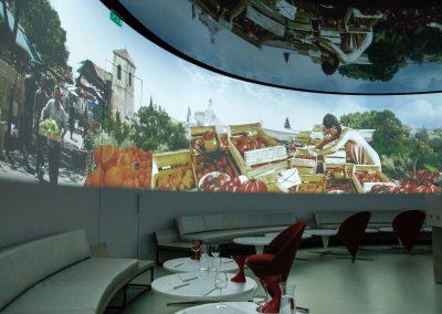 Zum Weinbaumuseum gehört ein multimedialer Sensorik-Raum.