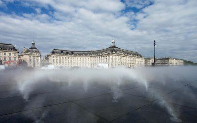 Warum nach Bordeaux? Wegen des miroir d'eau
