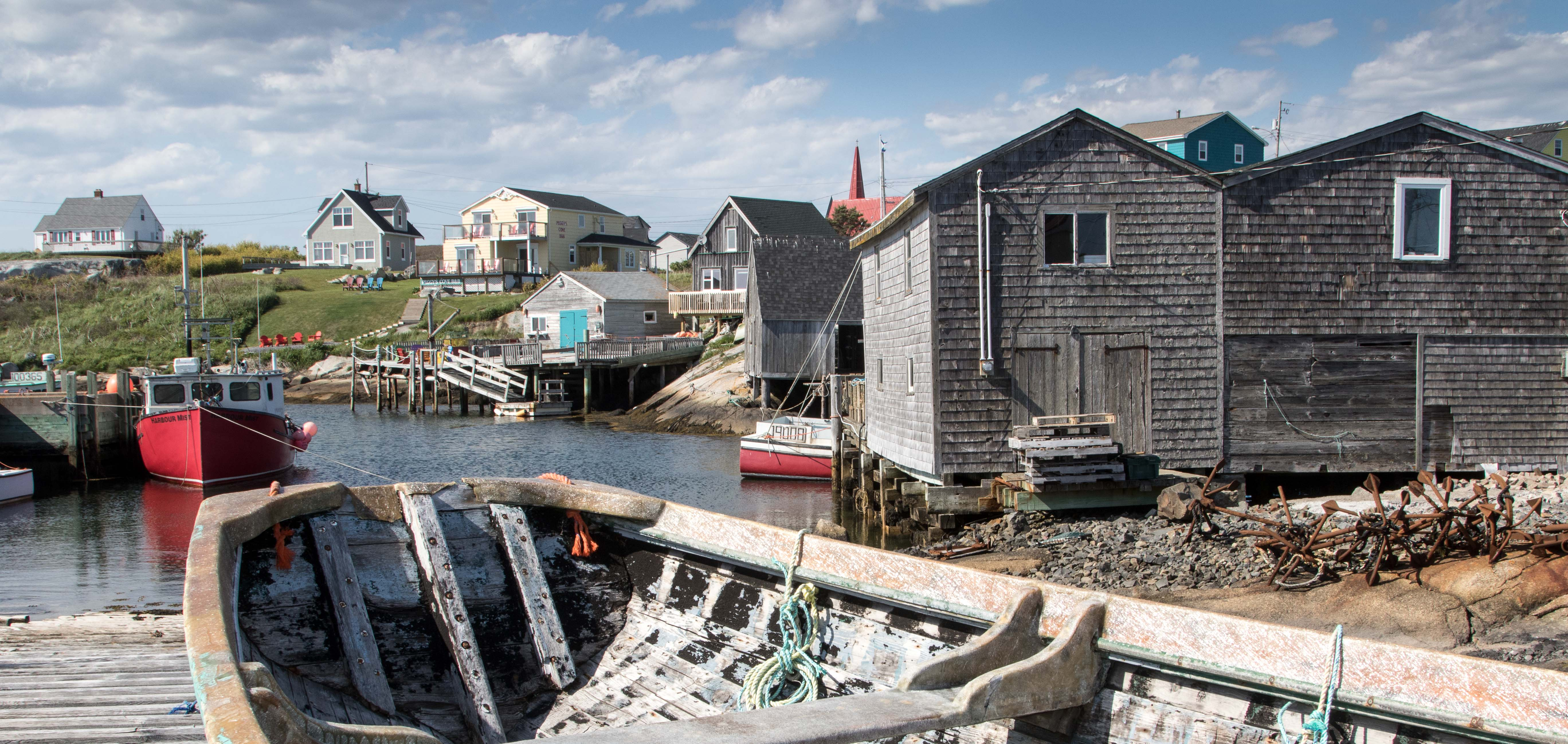 Der Hummerfang ist neben dem Tourismus die wichtigste Einnahmequelle von Peggy's Cove.