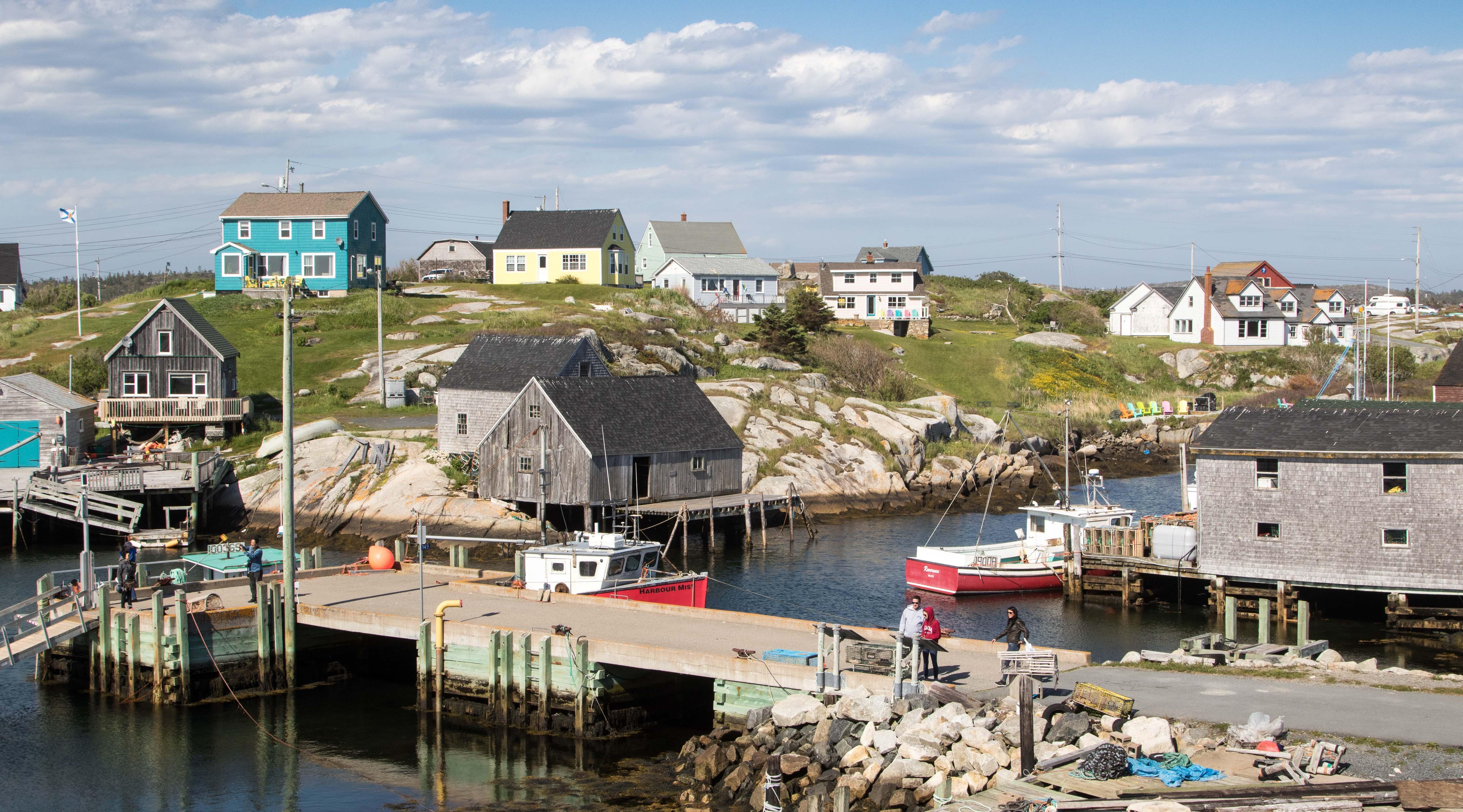 Gerade einmal 67 Menschen wohnen in dem kleinen Ort an der Atlantikküste.